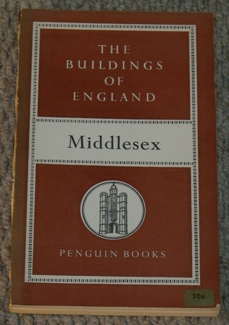 Image for Middlesex The Buildings of England.