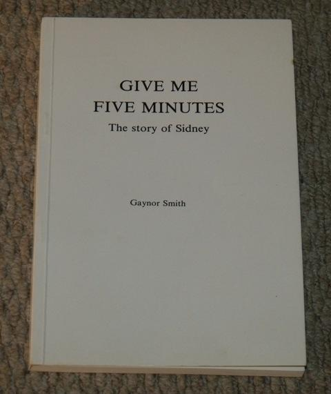 Image for Give Me Five Minutes. The story of Sidney.