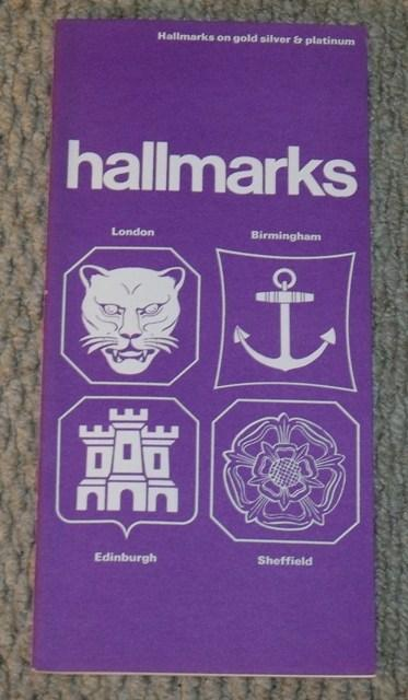 Image for Hallmarks. Hallmarks on gold, silver & platinum.