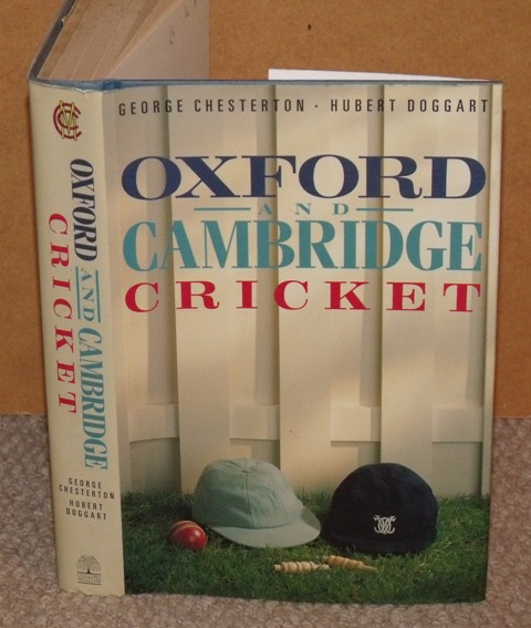 Image for Oxford and Cambridge Cricket. Introduction by E.W.Swanton.
