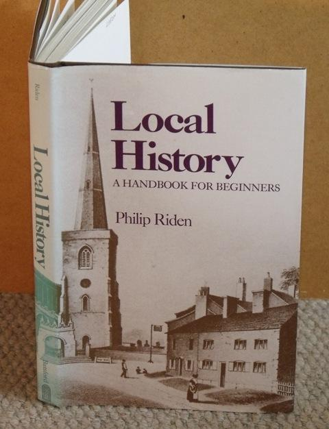 Local History. A Handbook for Beginners.