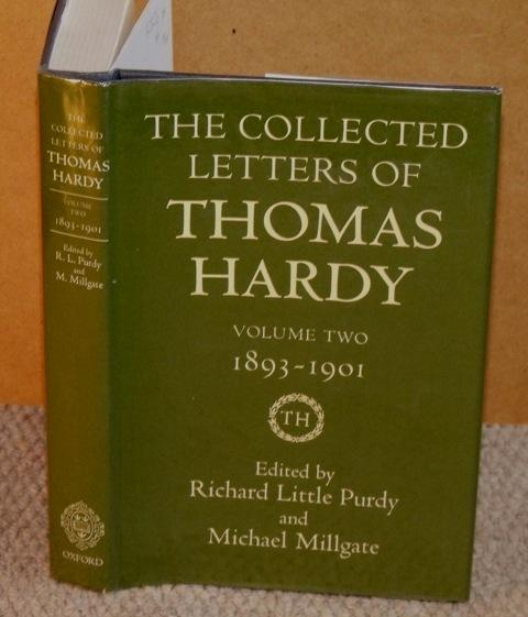 Image for The Collected Letters of Thomas Hardy. Volume II. 1892-1901.
