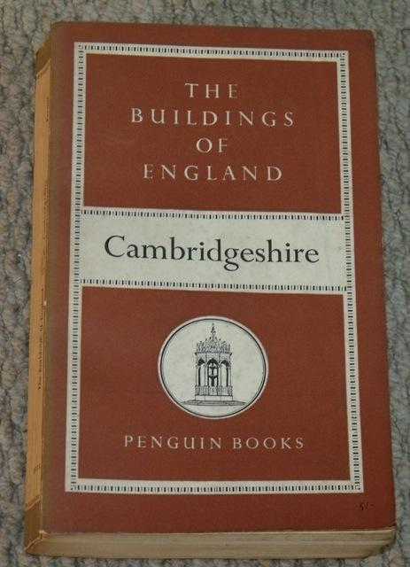 Image for Cambridgeshire. The Buildings of England.