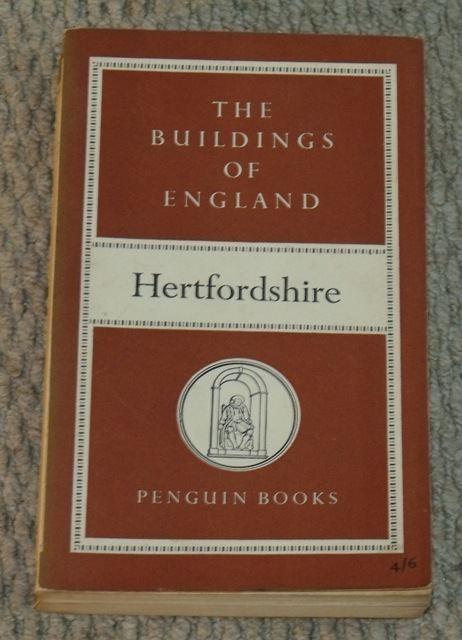 Image for Hertfordshire. The Buildings of England.