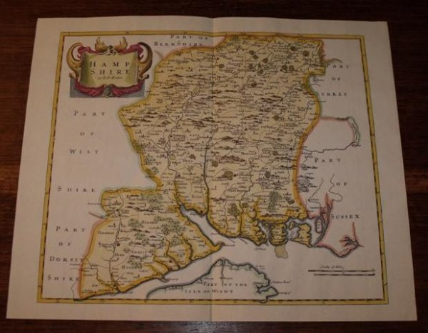 Image for Map of Hampshire.