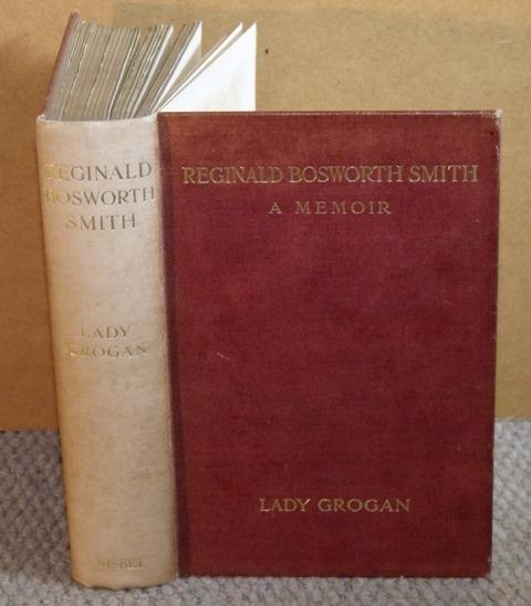 Image for Reginald Bosworth Smith A Memoir. By his daughter, Lady Grogan.