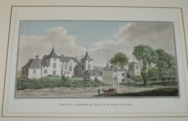 Image for Manor House, Cranbourne, the Property of the Marquis of Salisbury.