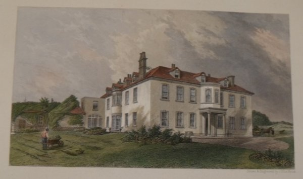 Image for Fleet House near Weymouth on the estate of the Revd. George Goodden. To whom this plate is respectfully dedicated.