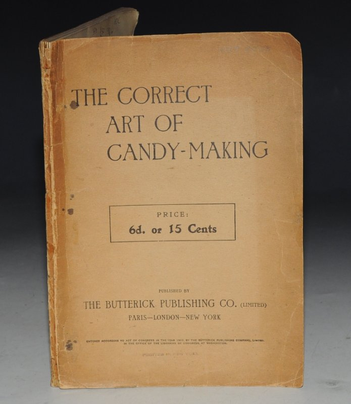 Image for The Correct Art of Candy-Making.