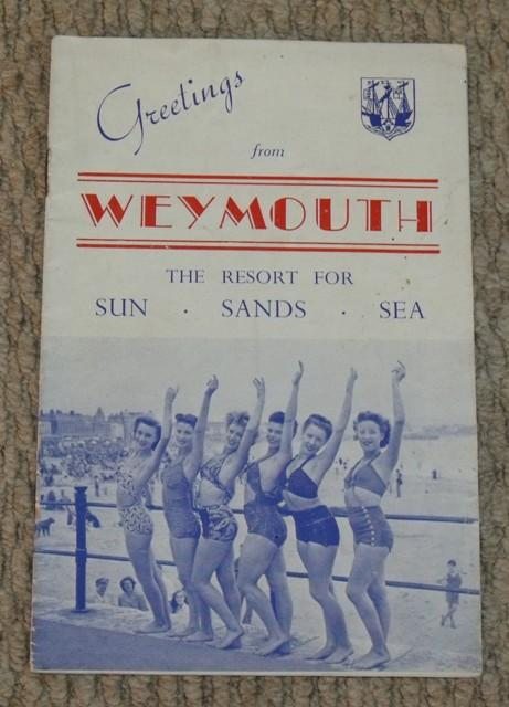 Image for Weymouth. Greetings from Weymouth. The Resort for Sun, Sands, Sea.