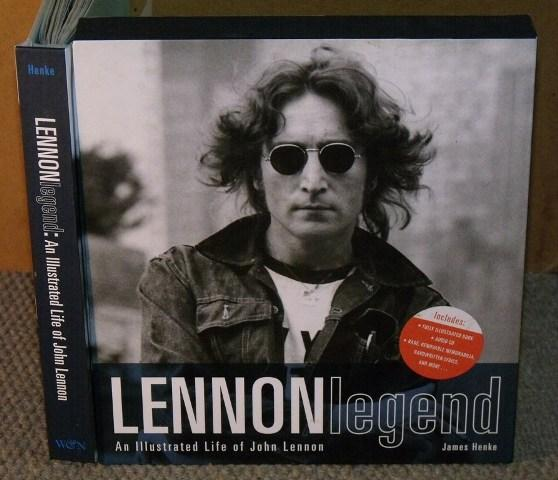 Image for Lennon Legend. An illustrated life of John Lennon. Features removable reproductions of Handwritten Lyrics, Artwork and Rare Memorabilia, Plus 'In His Own Words' CD, with John speaking about his life and art, and a live recording of 'Imagine'.