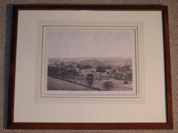Image for Winterbourne Steepleton, Dorset. Lithograph.