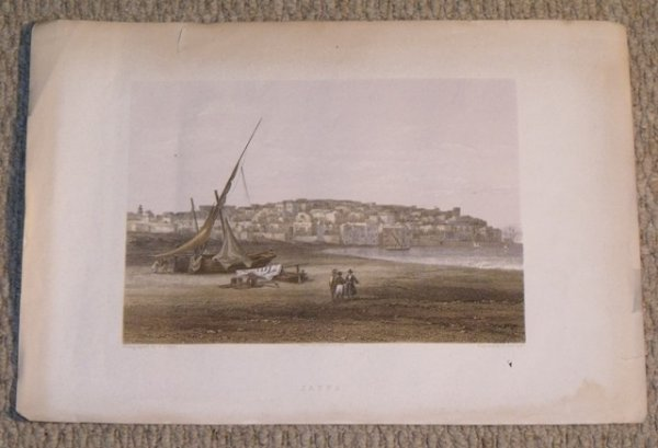 Image for Jaffa. Engraving taken from a photograph and printed in colour.
