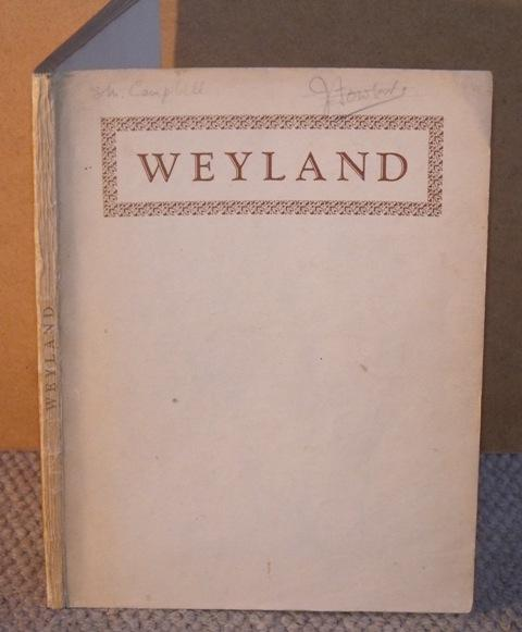 Image for Weyland. The Story of Weymouth and its Countryside. With illustrations by the author.