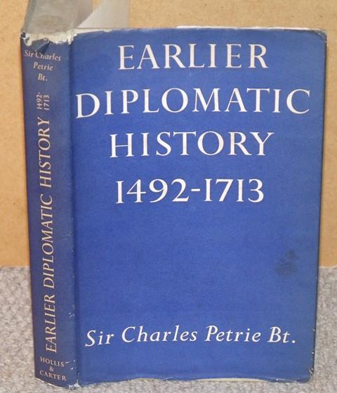 Image for Earlier Diplomatic History 1492-1713.