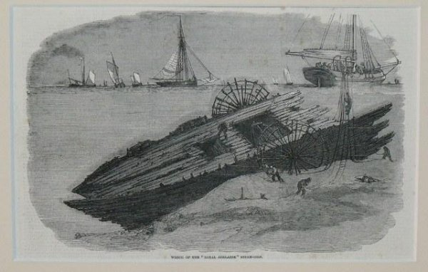 "Image for Wreck Of The ""Royal Adelaide"" Steam-Ship."