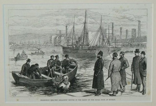 Image for Searching For The Assassins' Knives In The Basin of The Canal Dock At Dublin.