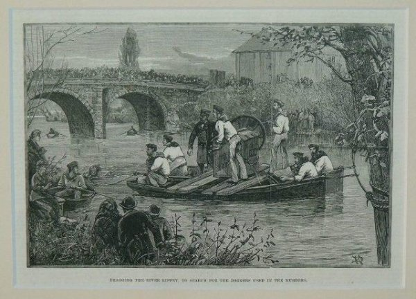 Image for Dragging The River Liffey, To Search For Daggers Used In The Murders.