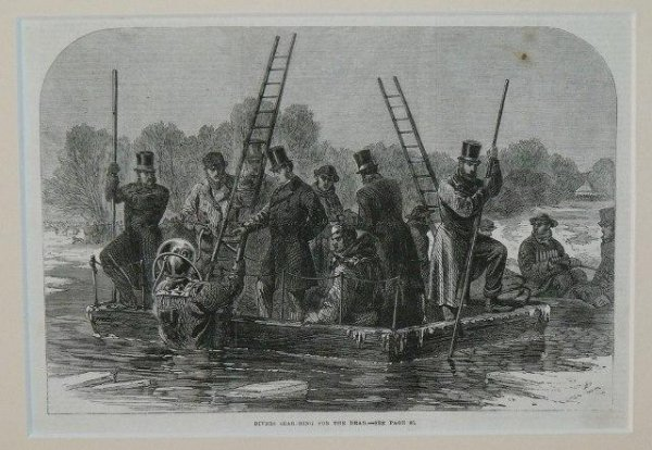 Image for Divers Searching For The Dead.