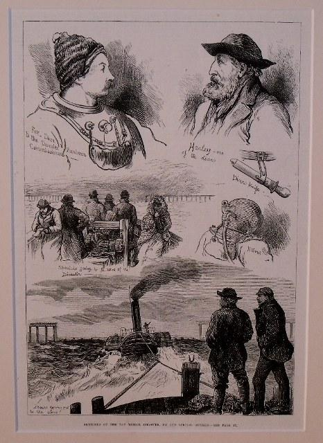 Image for Sketches Of The Tay Bridge Disaster, By Our Special Artists.