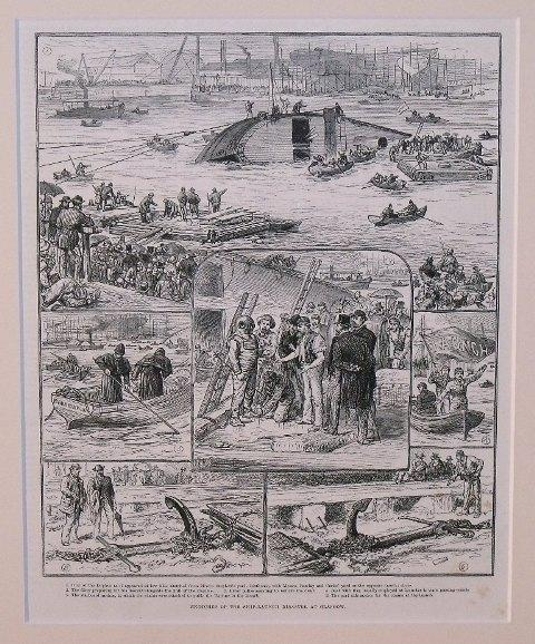 Image for Sketches Of The Ship-Launch Disaster at Glasgow