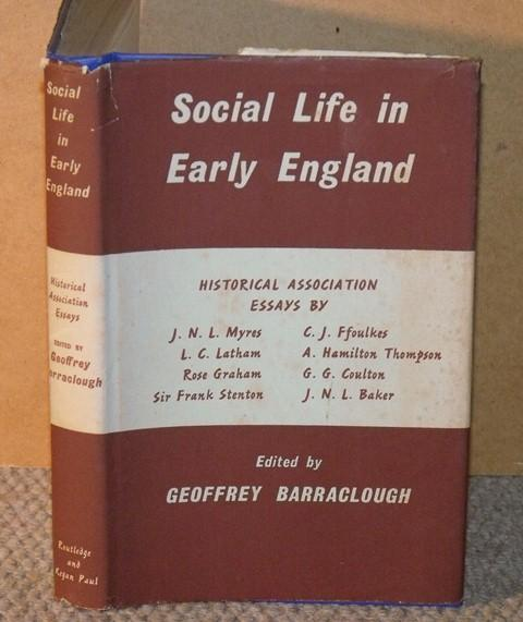 Image for Social Life in Early England. Historical Association Essays.