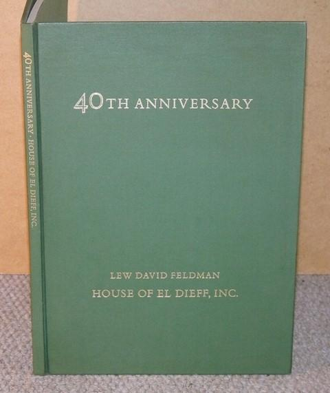 Image for 1975 Fortieth Anniversary Catalogue containing forty selections from stock.