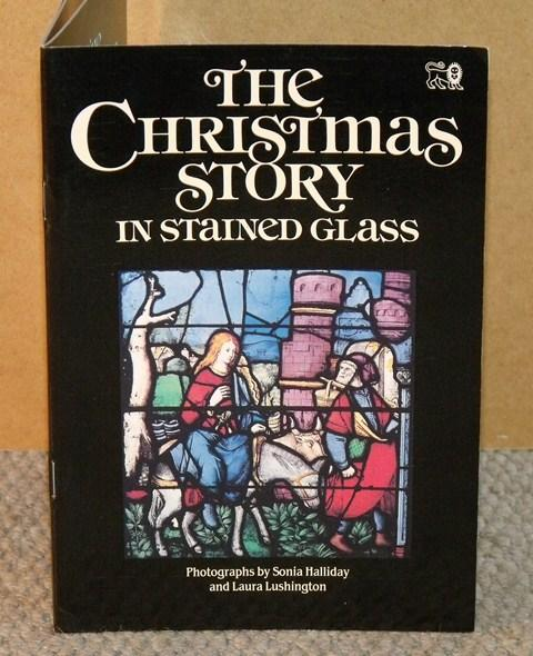 Image for The Christmas Story in stained glass.
