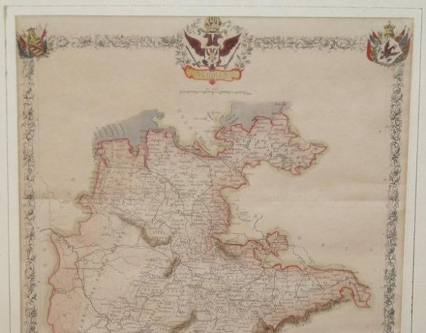 Image for Original Engraved Map of Germany.
