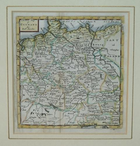 Image for Original Engraved A New Map of Germany.