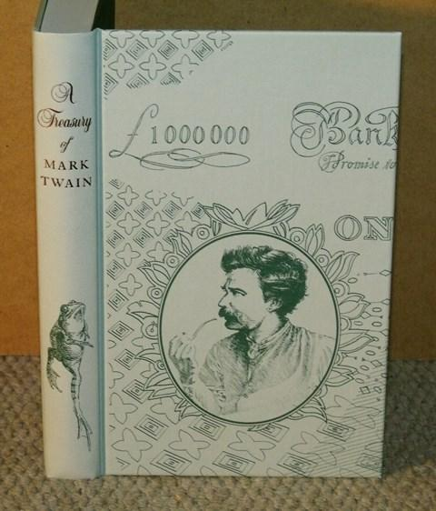 Image for A Treasury of Mark Twain. Introduction by Roy Blount Jr. Illustrated by Rod Waters.