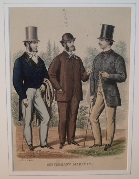 Image for Gentleman's Magazine of Fashion. Plate 1.