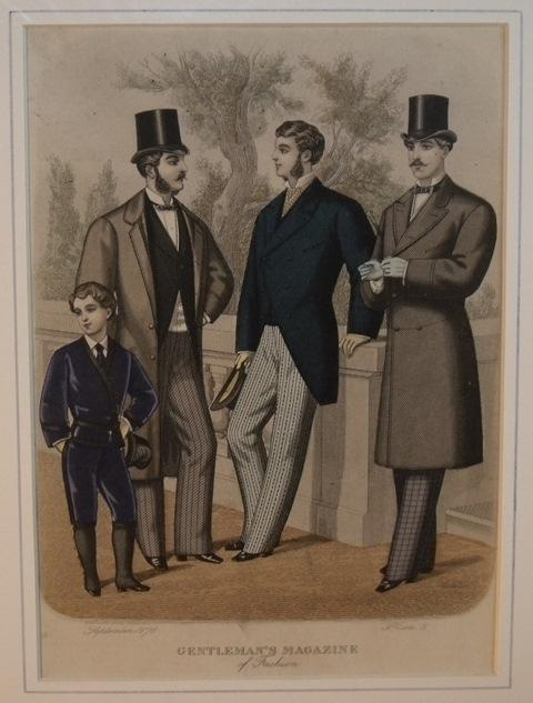 Image for Gentleman's Magazine of Fashion. Plate 3.