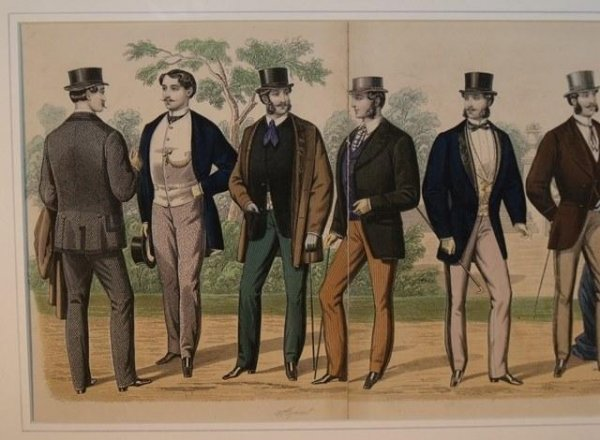 Image for Gentleman's Magazine of Fashion.