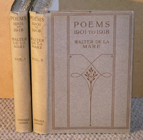 Image for Poems. 1901 to1918, two volumes.