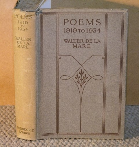Image for Poems. 1919 to1934.