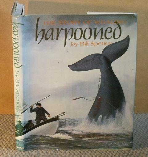 Image for Harpooned. The Story of Whaling.