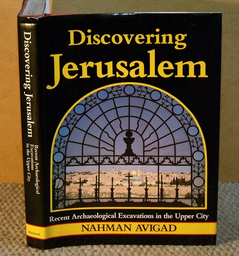 Image for Discovering Jerusalem. Recent Archaeological Excavations in the Upper City.