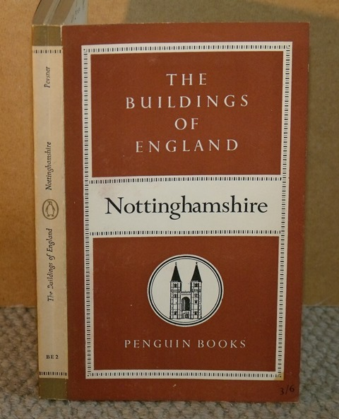 Image for Nottinghamshire. (The Buildings of England).