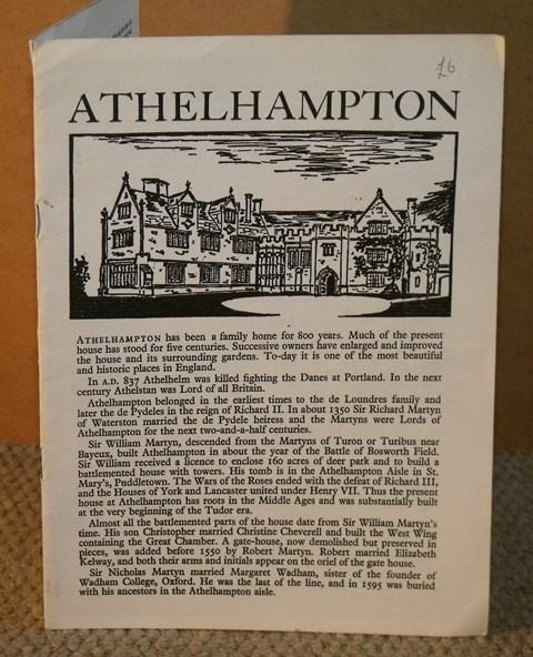 Image for Athelhampton.