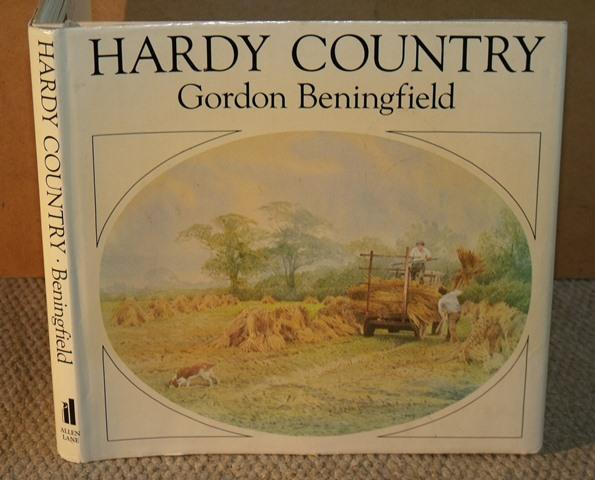 Image for Hardy Country. Introduction and Captions by Gordon Beningfield. Text by Anthea Zeman.