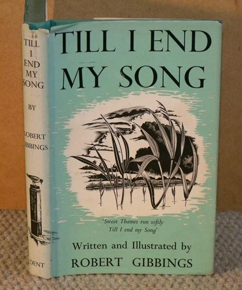 Image for Till I End My Song. With wood engravings by the author.