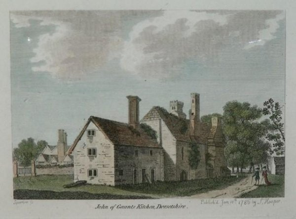 Image for John of Gaunt's Kitchen, Dorsetshire. Published Jan 11th 1786 by S.Hooper.