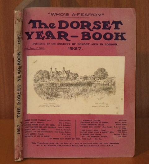 Image for The Dorset Year Book, for 1927.