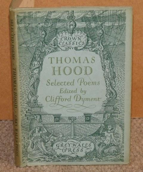 Image for Thomas Hood, Selected Poems Edited by Clifford Dyment.