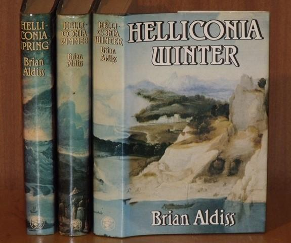 Image for Helliconia Spring, Helliconia Summer, Helliconia Winter. Three volume trilogy.