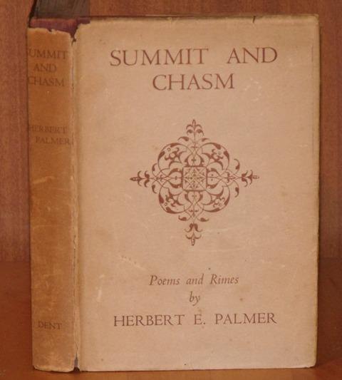 Image for Summit and Chasm. A Book of Poems and Rimes.