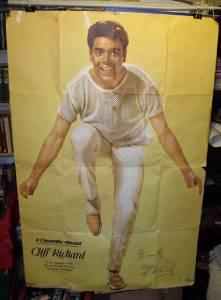 "Image for A Large Poster of Cliff Richard ""As he appears in the Elstree Distributor's Film, Summer Holiday."""