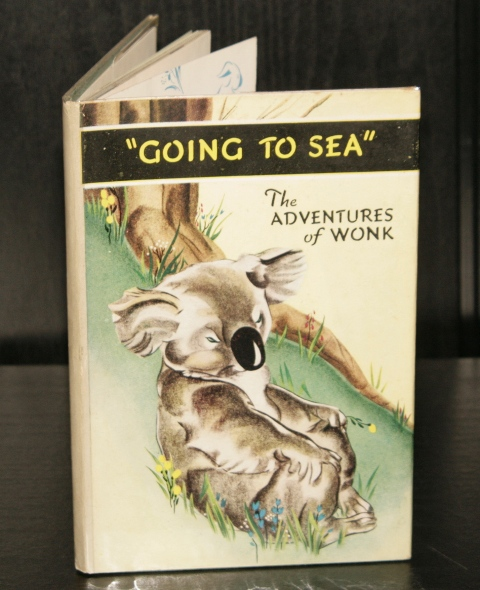 Image for The Adventures of Wonk. Going to Sea. Stories by Muriel Levy of Radio Fame. Illustrations by Kiddell-Monroe.