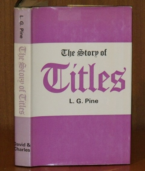 Image for The Story of Titles. Signed copy.